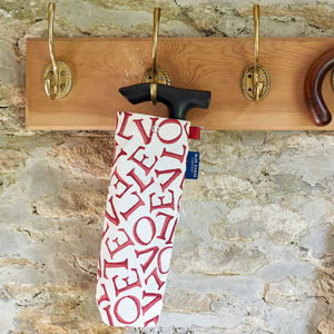 Emma Bridgewater Love Folding Walking Stick Bag