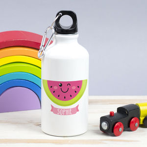 Children's Personalised Summer Fruit Waterbottle - picnics & barbecues