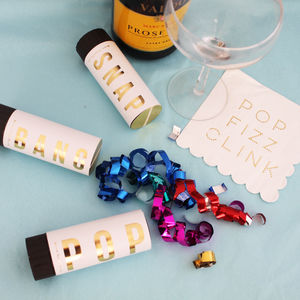 Celebration Confetti Cannons - new years parties