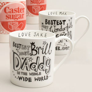 Personalised Mummy Or Daddy Mug - candles & home fragrance