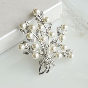 Floral Bouquet Brooch - pins & brooches