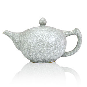 Ru Crackle Glaze Ceramic Teapot - tableware