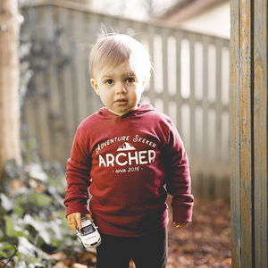 Personalised Adventure Seeker Kids T Shirt - for little adventurers