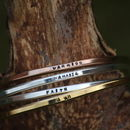 Warrior Band – Handstamped Bracelet