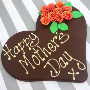 Happy Mothers Day Chocolate Heart