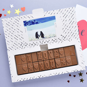 Chocolate I Love You - gifts under £25