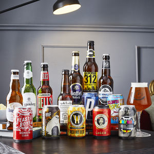 14 Award Winning Beers Of The World And Glass Gift Idea - hampers