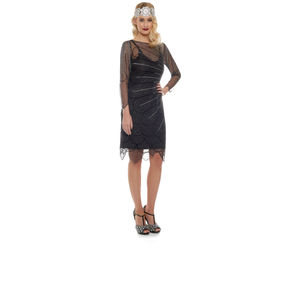 Flapper Dress For Bridesmaids - statement sparkle