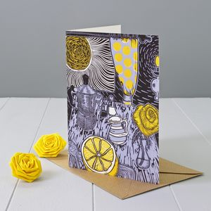 Breakfast With Sunshine Greeting Card - birthday cards