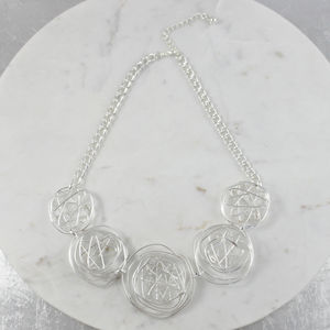 Atomic Starburst Necklace