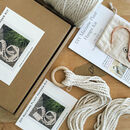 Macrame Plant Hanger Craft Kit