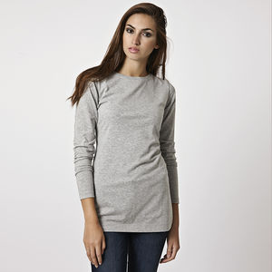 Long Sleeve Tee - women's fashion