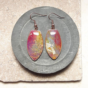 Colourfield Abstract Earrings