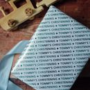 'Christening' Personalised Luxury Wrapping Paper