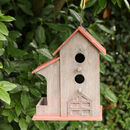 Country Garden Hanging Bird House