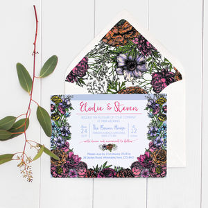 Floral Meadow Wedding Invitations - what's new