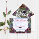 Floral Meadow Wedding Invitations