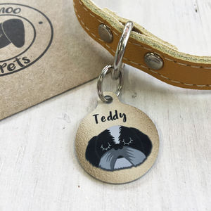 Copper Dog ID Tag Personalised - pet tags & charms