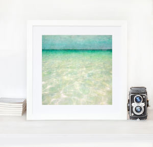 Mexico Blue Home Art Print - limited edition art