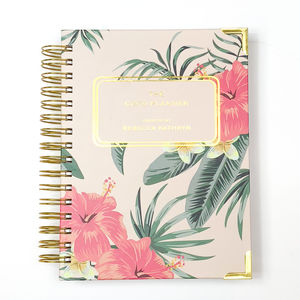 2019 Diary Coco Planner Floral Tropical - writing