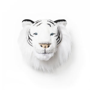 White Tiger Decorative Head