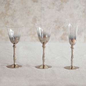 Silver Plated Glassware Collection - whatsnew