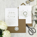 'Highland' Wedding Invitations More Colours