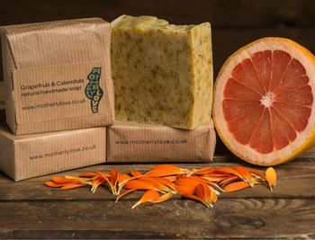 Green And Natural Soap Grapefruit And Calendula