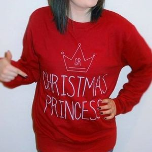 Christmas Princess Christmas Jumper