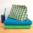 Wash Bag Box Print