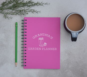 Personalised Grandparents Garden Planner A5 Journal