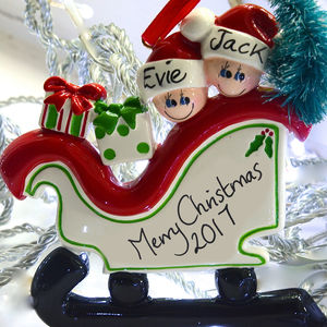 Christmas Family Personalised Decoration