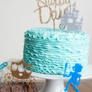 Princess And Prince Castle Cake Topper Decoration Set