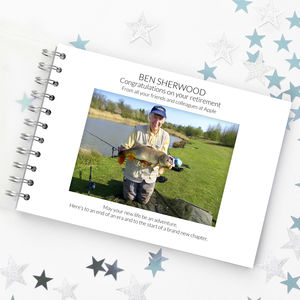 Personalised Retirement Book - retirement gifts