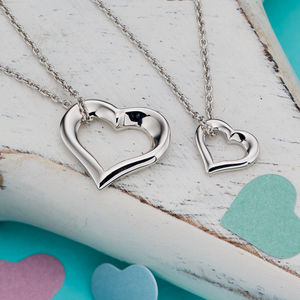 Two Hearts Beat As One Mummy And Me Set - jewellery sets
