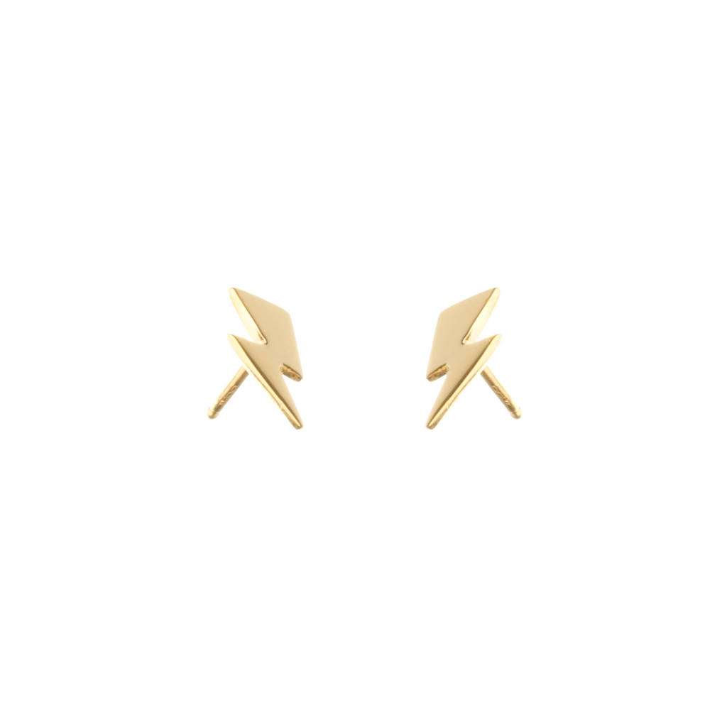 earrings chloe small stud in silver gorjana