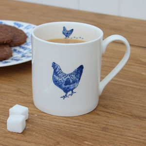 'Chicken' China Mug