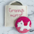 Personalised West Highland Terrier Compact Mirror