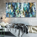 Original Abstract Painting On Canvas Wall Art