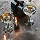 Sidney Recycled Gin Glasses, Set Of Two