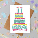 'Birthday Wishes' Greetings Card