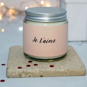 Je T'aime Scented Candle
