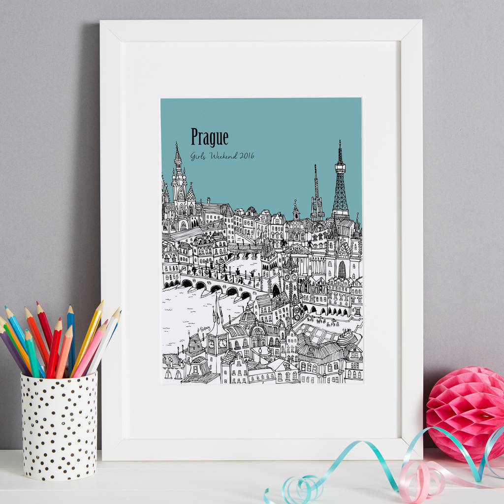 Personalised Prague Print