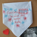 Mothers Day Embroidered Art Handkerchief