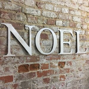 Christmas Noel Letters Sign Decoration - christmas home accessories