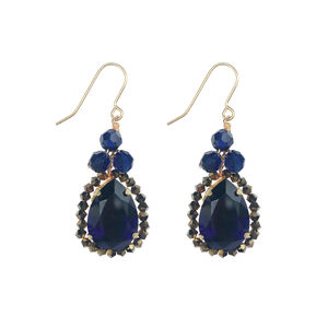 Crystal Droplet Earrings - earrings