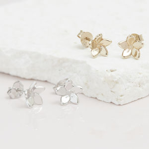 Forget Me Not Flower Stud Earrings - for children
