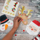 Make Your Own Christmas Masks Craft Kit