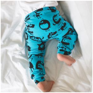 Blue Monster Babies Leggings - trousers & leggings