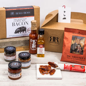 Chilli Hamper With Make Your Own Spicy Bacon Kit - savouries